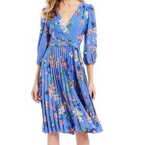 Eliza J Faux Wrap Dress, NWT.